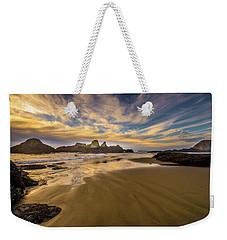 Receding Tide Weekender Tote Bag