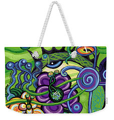 Reciprocal Liason Of The Sea II Weekender Tote Bag by Genevieve Esson