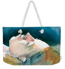 Reclining Head Study Weekender Tote Bag