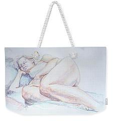 Reclining Study 2 Weekender Tote Bag