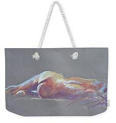 Reclining Study 5 Weekender Tote Bag