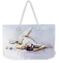 Reclining Study 6 Weekender Tote Bag
