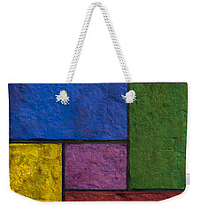 Rectangles Weekender Tote Bag