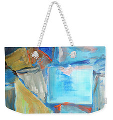 Recycled Bits And Pieces Weekender Tote Bag