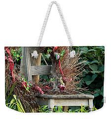 Recycled Welcome Weekender Tote Bag