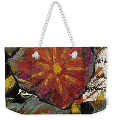Red Affection Weekender Tote Bag by Angela L Walker