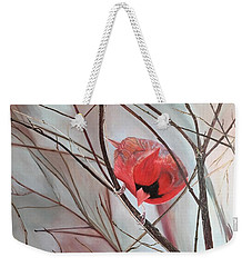 Red Alert Weekender Tote Bag