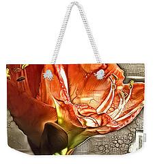 Red Amarylls Weekender Tote Bag