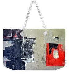 Red And Black Study 2.0 Weekender Tote Bag