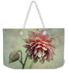 Red And Pink Columbine Weekender Tote Bag