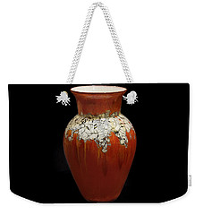 Red And White Vase Weekender Tote Bag
