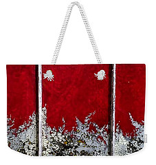 Red And White Widow # 2 Weekender Tote Bag