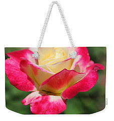 Red And Yellow Rose Weekender Tote Bag