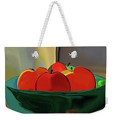Red Apples Weekender Tote Bag