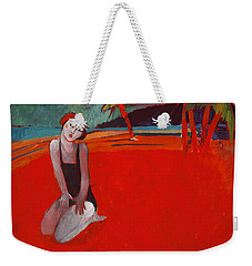 Red Beach Two Weekender Tote Bag