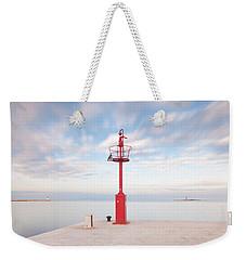 Red Beacon Weekender Tote Bag