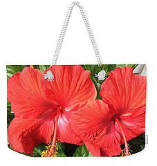 Red Beauties Weekender Tote Bag