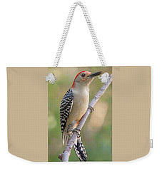 Red-bellied Woodpecker, Fall Morning Weekender Tote Bag