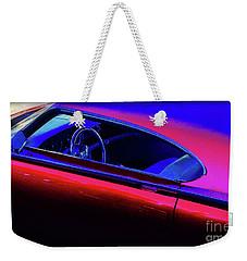 Red Blue Car Weekender Tote Bag
