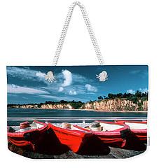 Red Boat Diaries Weekender Tote Bag