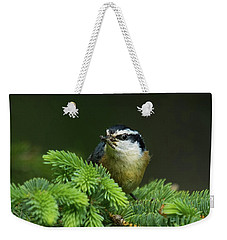 Red-breasted Nuthatch Weekender Tote Bag