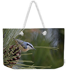 Red Breasted Nuthatch Weekender Tote Bag