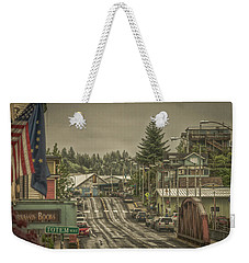 Red Bridge Haze Weekender Tote Bag
