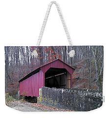 Red Bridge Weekender Tote Bag