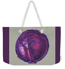 Red Cabbage Weekender Tote Bag