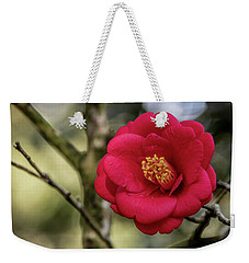 Red Camelia 05 Weekender Tote Bag by Gregory Daley  PPSA