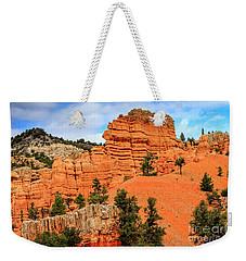 Red Canyon Area In Utah Weekender Tote Bag