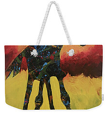 Red Canyon Warrior Weekender Tote Bag