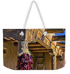 Red Chillies At New Years Weekender Tote Bag