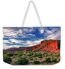 Red Cliffs Of Caprock Canyon 2 Weekender Tote Bag