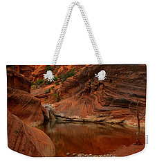 Red Cliffs Reflections Weekender Tote Bag