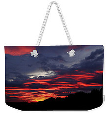 Red Cloud Mountain Weekender Tote Bag