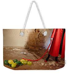Red Coat #4810 Weekender Tote Bag by Andrey Godyaykin