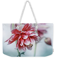 Red Columbines Weekender Tote Bag