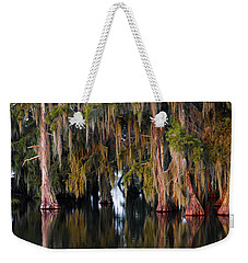 Red Cypresslouisiana Weekender Tote Bag