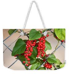 Red Delight Weekender Tote Bag