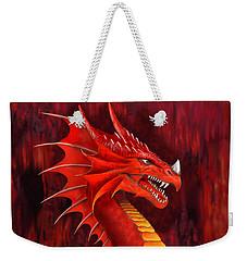 Red Dragon Terrifier Weekender Tote Bag