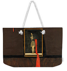 Red Echo Weekender Tote Bag