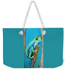 Red-eyed Tree Frog Weekender Tote Bag
