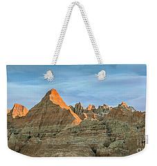 Red Faced Panorama Weekender Tote Bag