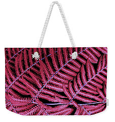 Red Fern Weekender Tote Bag