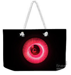 Red Flash Weekender Tote Bag