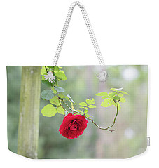 Red Flower Garden Weekender Tote Bag