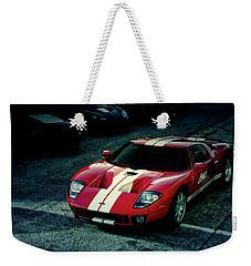 Red Ford Gt Weekender Tote Bag