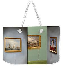 Red Gallery Weekender Tote Bag