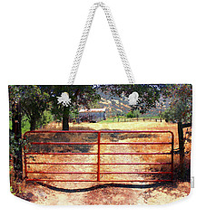 Red Gate Weekender Tote Bag by Timothy Bulone